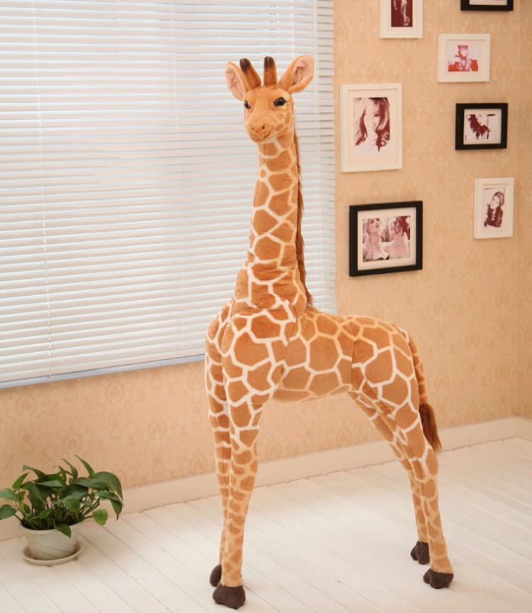 creative toy simulation giraffe doll about 95cm plush toy ,home decoration toy birthday gift h2907 кашпо gift n home сирень