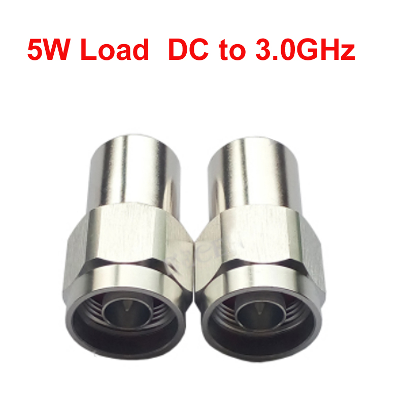 telecom 2W N RF load 2W dc-3ghz cable feeder N male RF COAXIAL cable jack connector cable load cable communication converter