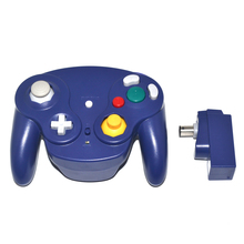 10 PCS a lot 2.4GHz Wireless Bluetooth Gamepad Controller Gamepad joystick with receiver for N-G-C for GameCube for wii with tracking number wired game controller gamepad for n gc joystick with one button for gamecube for wii