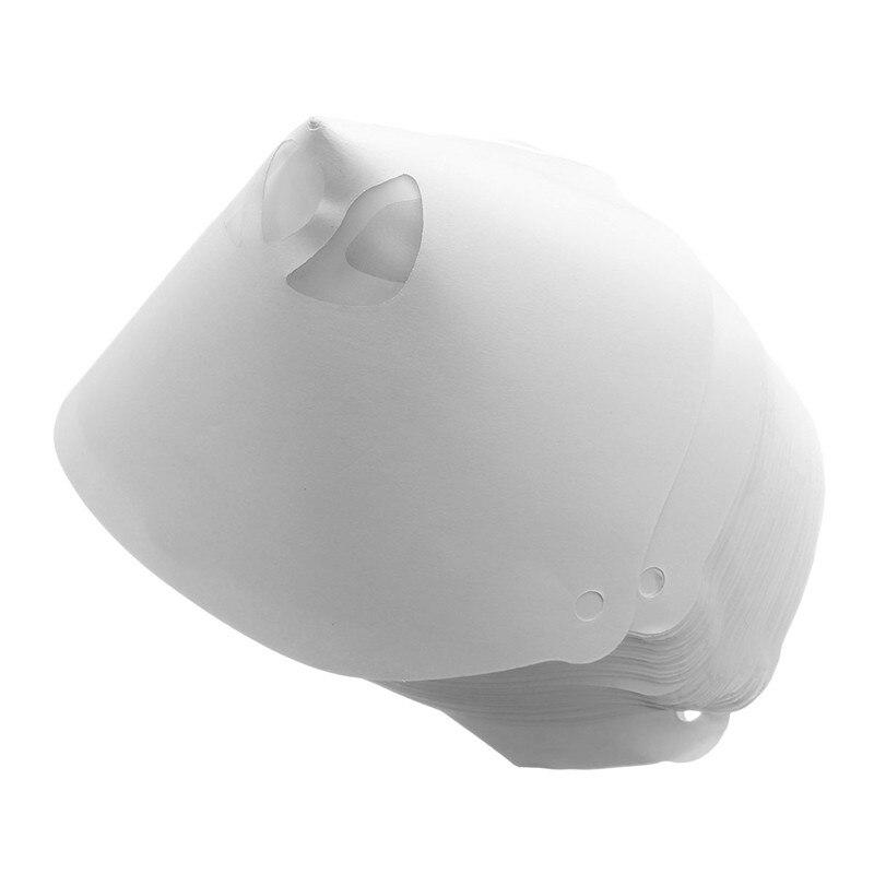 100pcs Mesh Paper Paint Strainers Paper Paint Conical Strainers Mesh Filter Cone Strainer Paint Funnel Selling