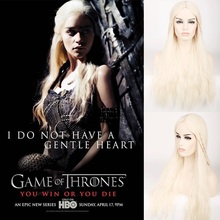 Game of Thrones Daenerys Targaryen Wig 75cm 29.53
