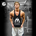 Professional Men Tank Tops Hulk gyms Clothing Men Vest Bodybuilding Fitness Cotton Golds Workout Men Tank Tops Undershirt Tops