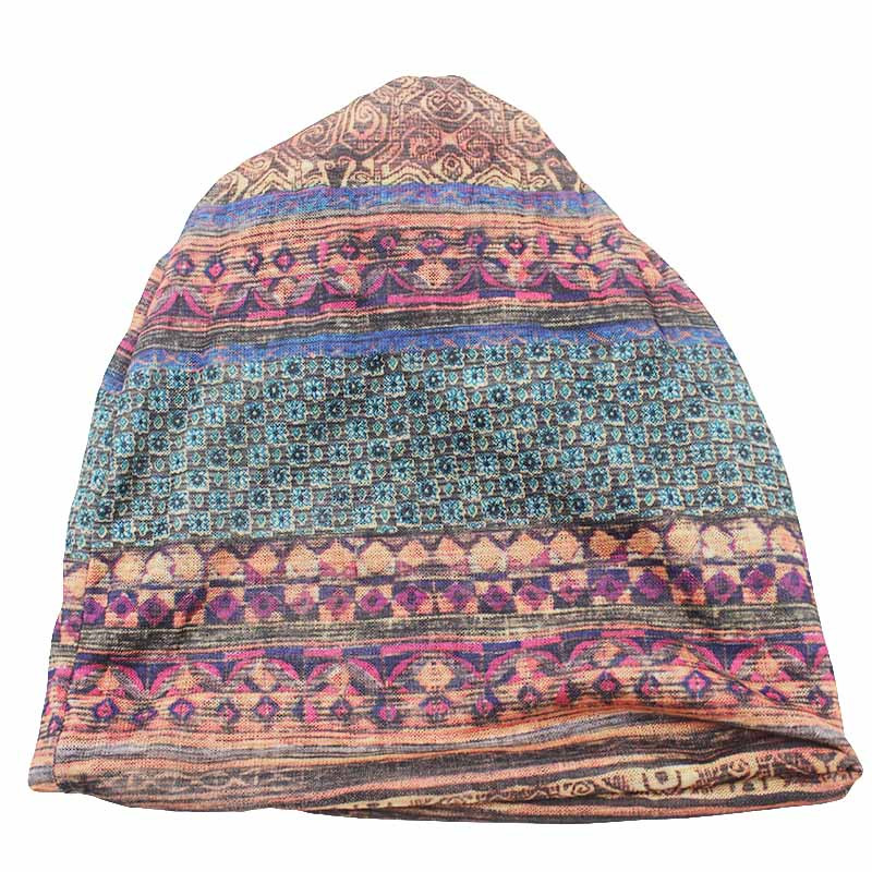 CAPSHOP Brand Autumn And Winter Dual-use  Vintage Design Hats For Ladies thin Skullies And Beanies Women Scarf Face Mask HT015 3