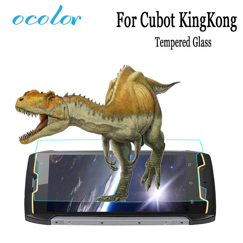 ocolor For Cubot KingKong Tempered Steel Film Front Glass Protective Replacemant For Cubot KingKong Screen Protector Mobile