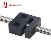 T Openbuilds T8 tornillo 8mm tuerca bloque Paso 2mm plomo 2/4/8mm para piezas de impresora 3D