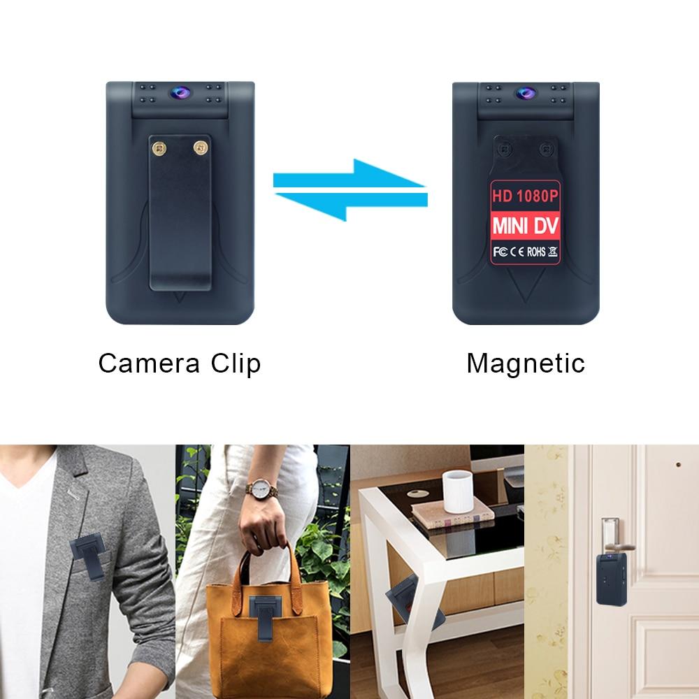 WiFi мини камера беспроводная 4K Ultra HD няня камера градусов вращающаяся линза монитор ночного видения IP камера безопасности видеокамера для на...