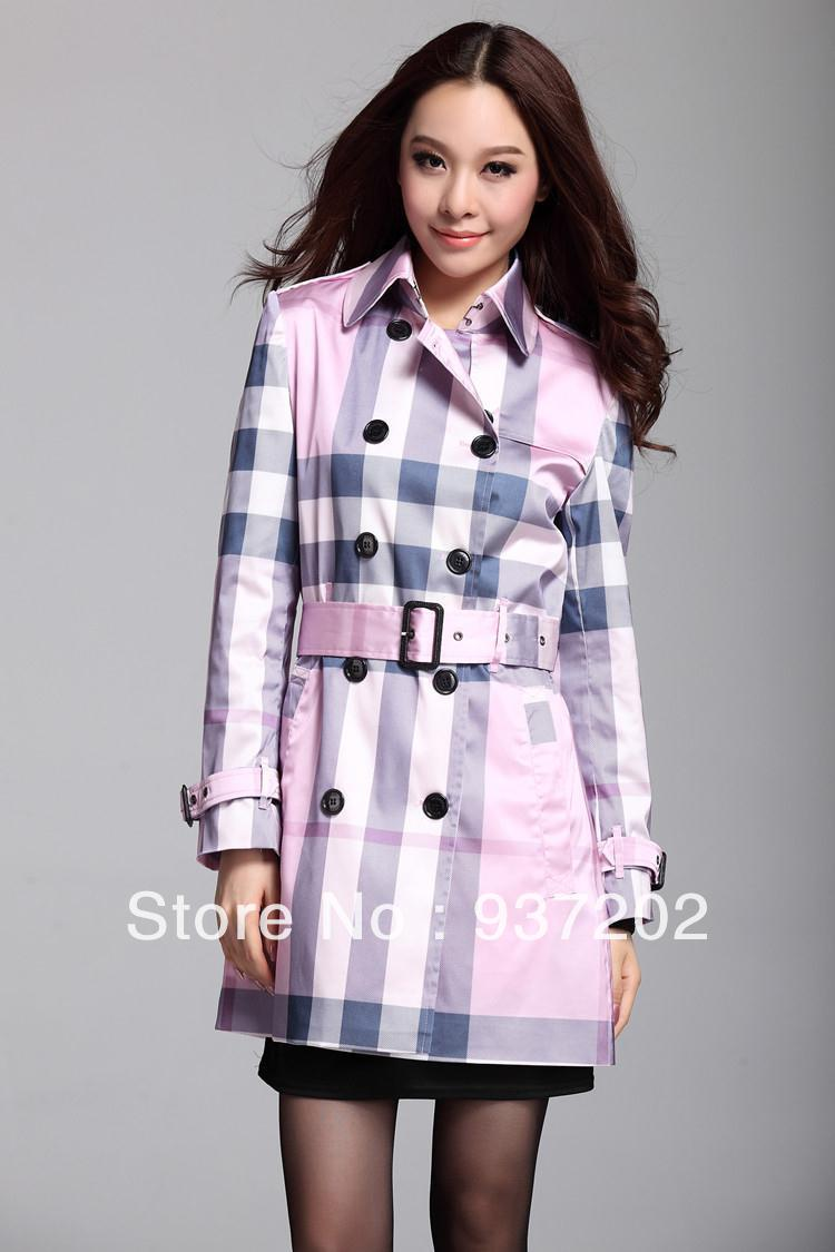 Collection Plaid Trench Coat Pictures - Fashionworksflooring
