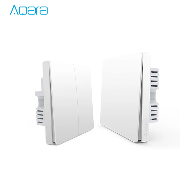 New Arrival Xiaomi Aqara Smart Light Switch ZigBee Version Smart three-way switches Mi APP Remote Control цена и фото