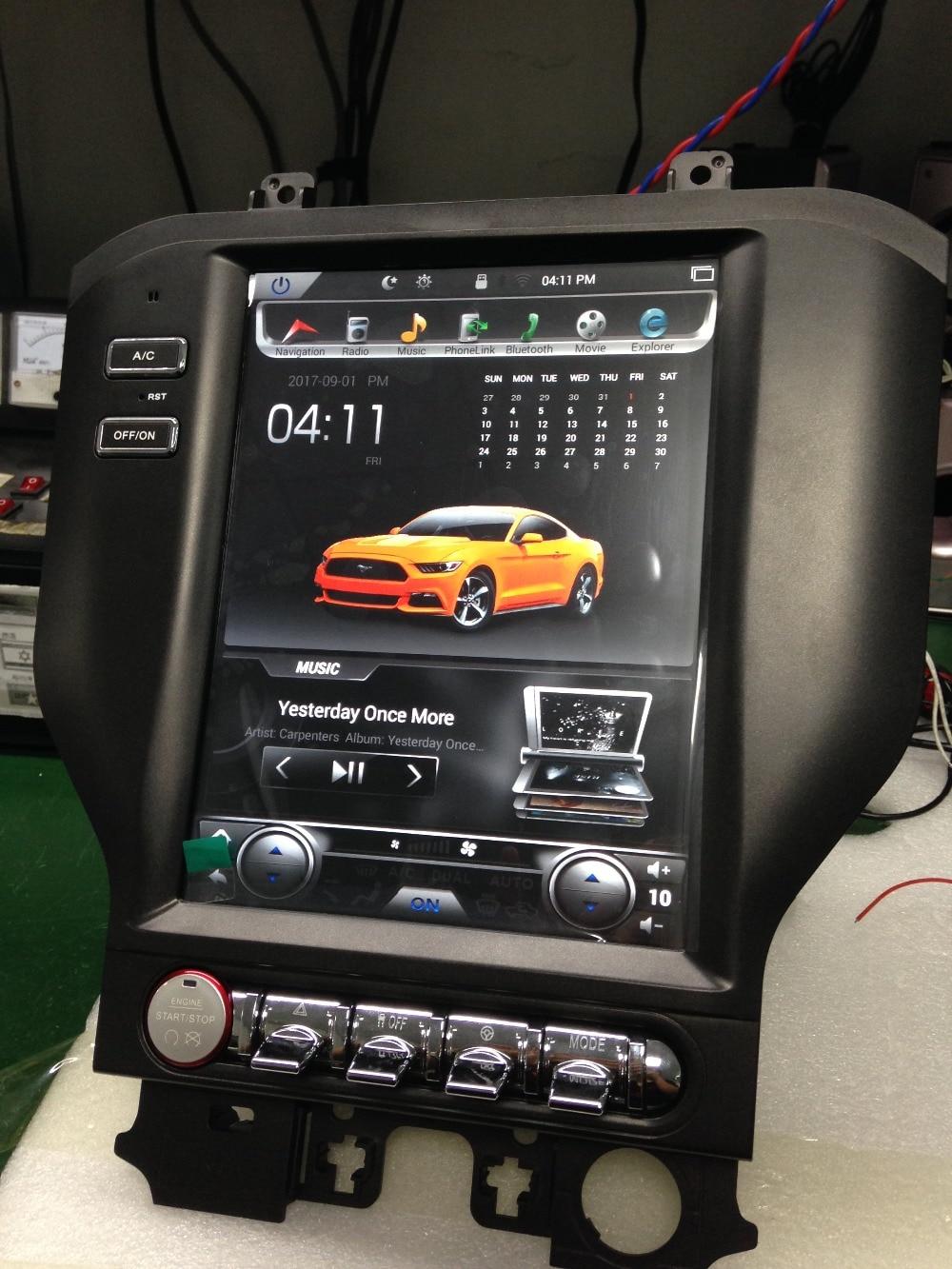 Otojeta Vertical 10.4 Quad Core Android 6.0 2gb ram Car DVD GPS navi radio for Ford Mustang 2015-2016 multimedia audio stereo 2gb ram 7 quad core android 7 1 multimedia 4g dab swc bt car dvd player audio stereo radio gps navi for vw touareg 2002 2011