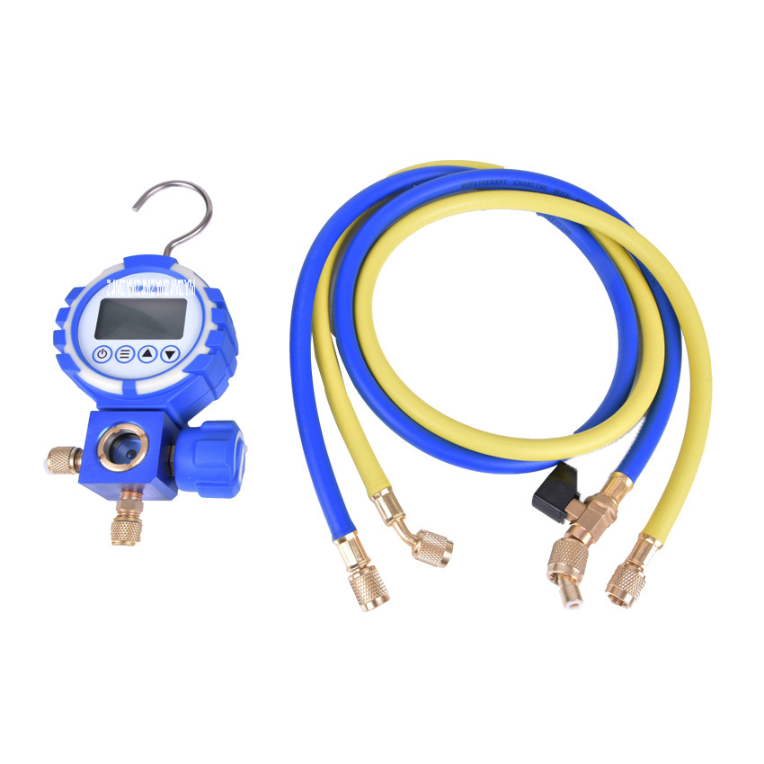 1PC DIGITAL MANIFOLD GAUGE VDG-S1, digital refrigerant table ,Pressure Gauges,Dial diameter цена