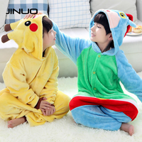 PKQ Winter Kinderen Plus Size Nachtkleding Goedkope JINUO Onesie Pyjama Nachtkleding Kids Designer Winter Fleece Kids Pyjama Dier
