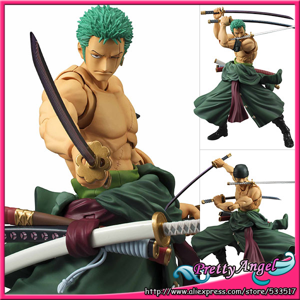 PrettyAngel - Genuine Megahouse Variable Action Heroes One Piece Roronoa Zoro Action Figure 1