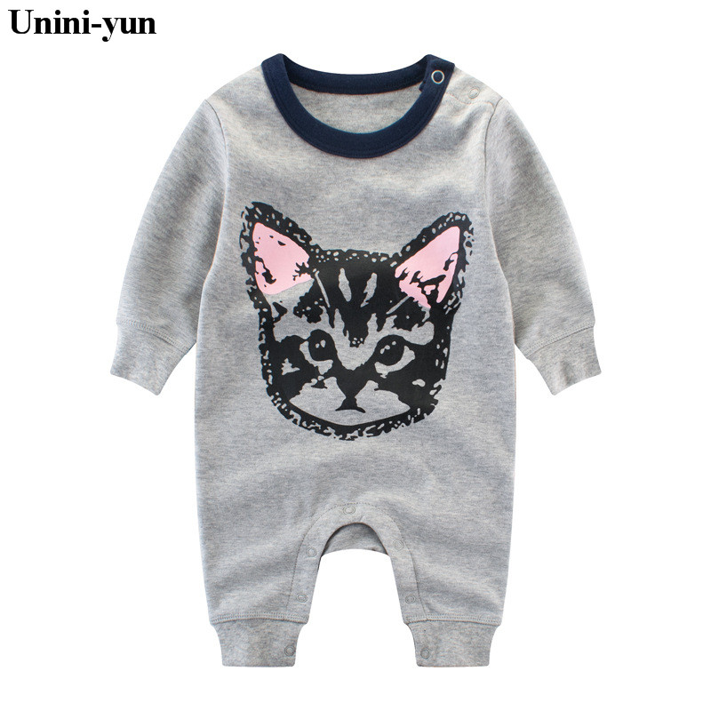 Baby Rompers Toddler Baby Boy Girls Clothing Autumn Long Sleeve New Baby Girl Clothes Romper Newborn Infant Rompers Jumpsuits cute black jumpsuits outfits clothing baby kid boy girl wings newborn toddler child infant kids boys girls clothes romper 0 18m