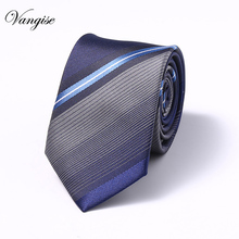 2019 classic men business formal wedding tie 6cm stripe neck tie fashion shirt dress accessories gift for men
