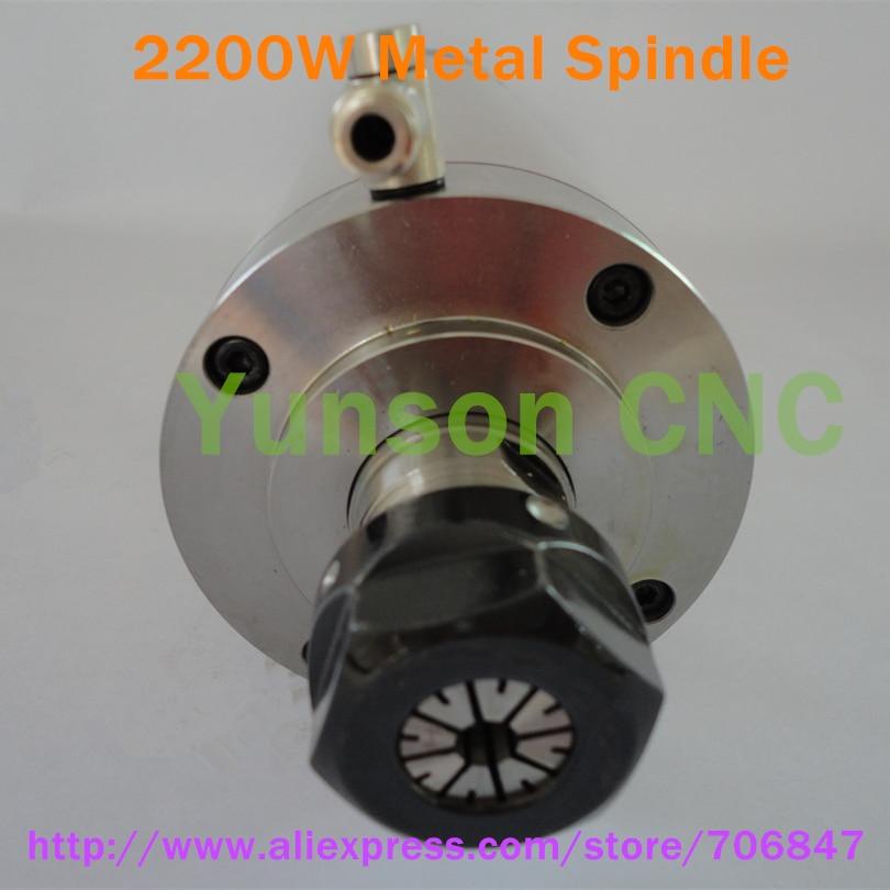 4 шт Керамические шариковые подшипники! 2200 Вт 2.2квт 3hp форма водяного охлаждения мотор шпинделя для металла гравер ЧПУ фрезерный станок ER20 Цанга