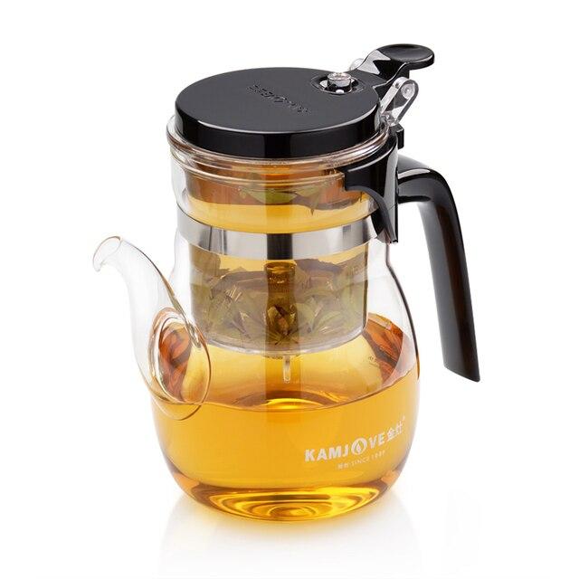 free shipping Kamjove k-206 tea cup tea pot elegant cup glass tea set glass cup