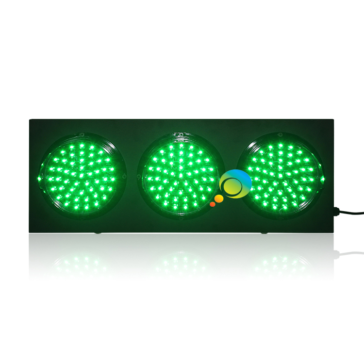 New Design Auto Racing Cold-rolled Plate  200mm Mix Red Green LED Traffic Signal Light