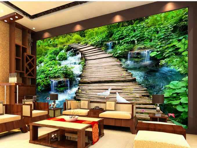 photo murals 3d flooring photo wallpaper Living room bedroom for walls pvc floor wall paper self adhesive modern
