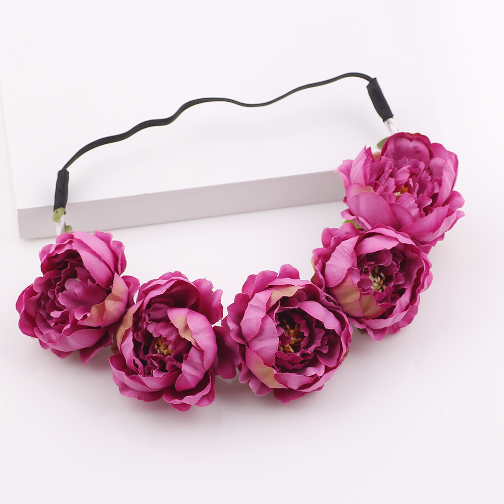 Hair accessories fashion fabric wildflower headband headwrap flower hair accessories fashion fabric wildflower headband headwrap flower crown bridesmaid floral crown boho rustic wedding crown in hair accessories from mother izmirmasajfo