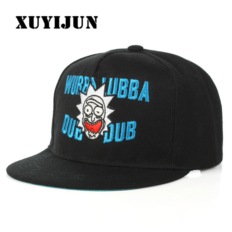 XUYIJUN 2018 Rick and Morty Hats Fashion Simple Men Women Hat Hats Baseball Cap Hip Hop Snapback Simple Classic Caps Winter men hat europe and the united states fashion leather simple autumn and winter wild baseball cap out fashion hot sale
