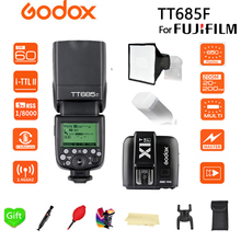 Godox TT685F TT685 Flash 2.4G HSS 1/8000 s TTL GN60 Wireless Speedlite +15*17 softbox+X1T-F Trigger Transmitter for Fujifilm
