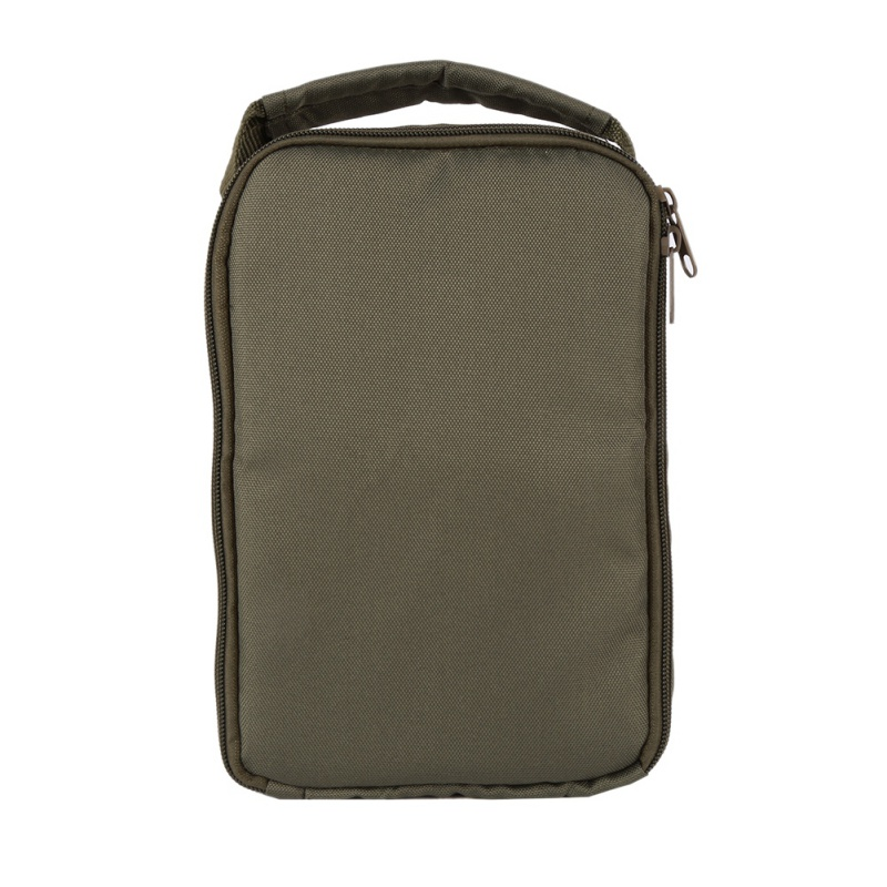 New Style High Quality Fishing Reel Bag 4-Layer 600D Oxford Cloth Handled Dual Zipper Outdoor Storage Case Container For Line