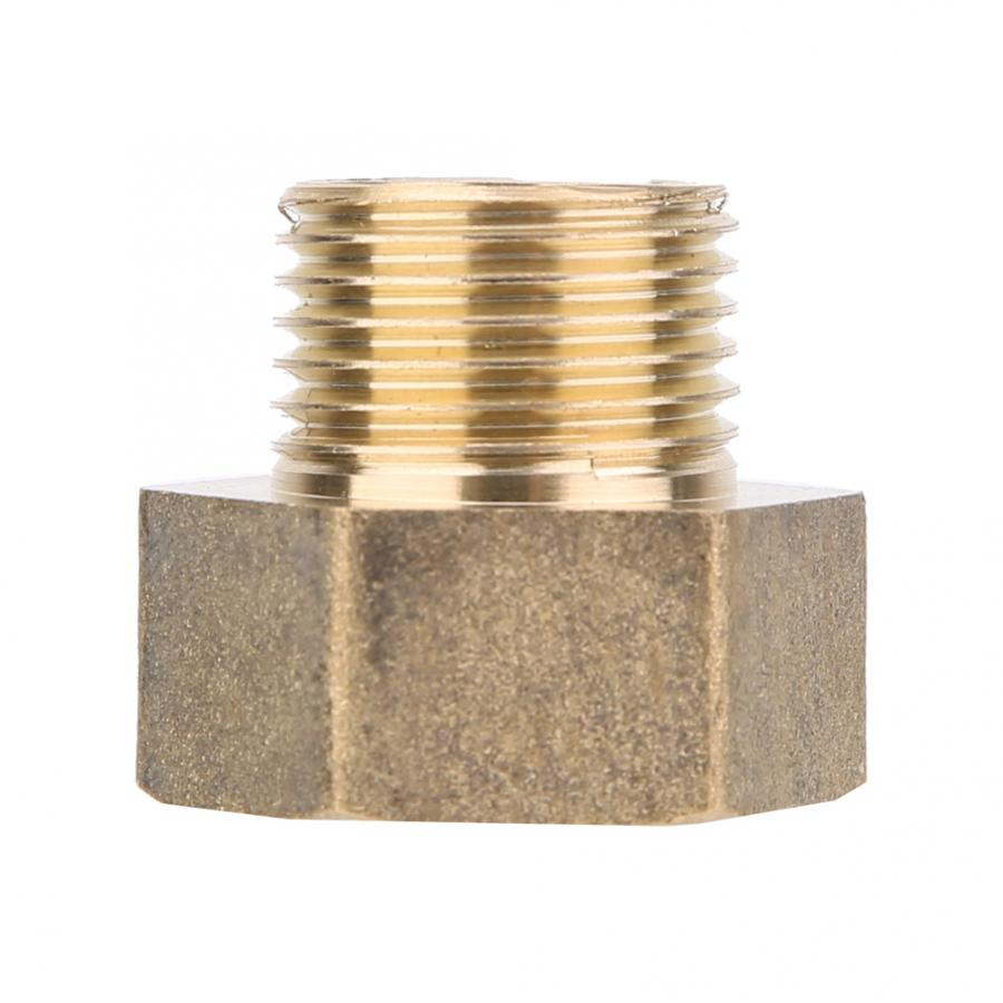 "2pcs 1//2/"" Male Lengthen 50mm Outer 20mm Brass Adapter Coupler Connector"