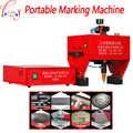 JMB-170 máquina de marcado portátil para código de bastidor, máquina neumática de marcado de puntos 110/220V 200W