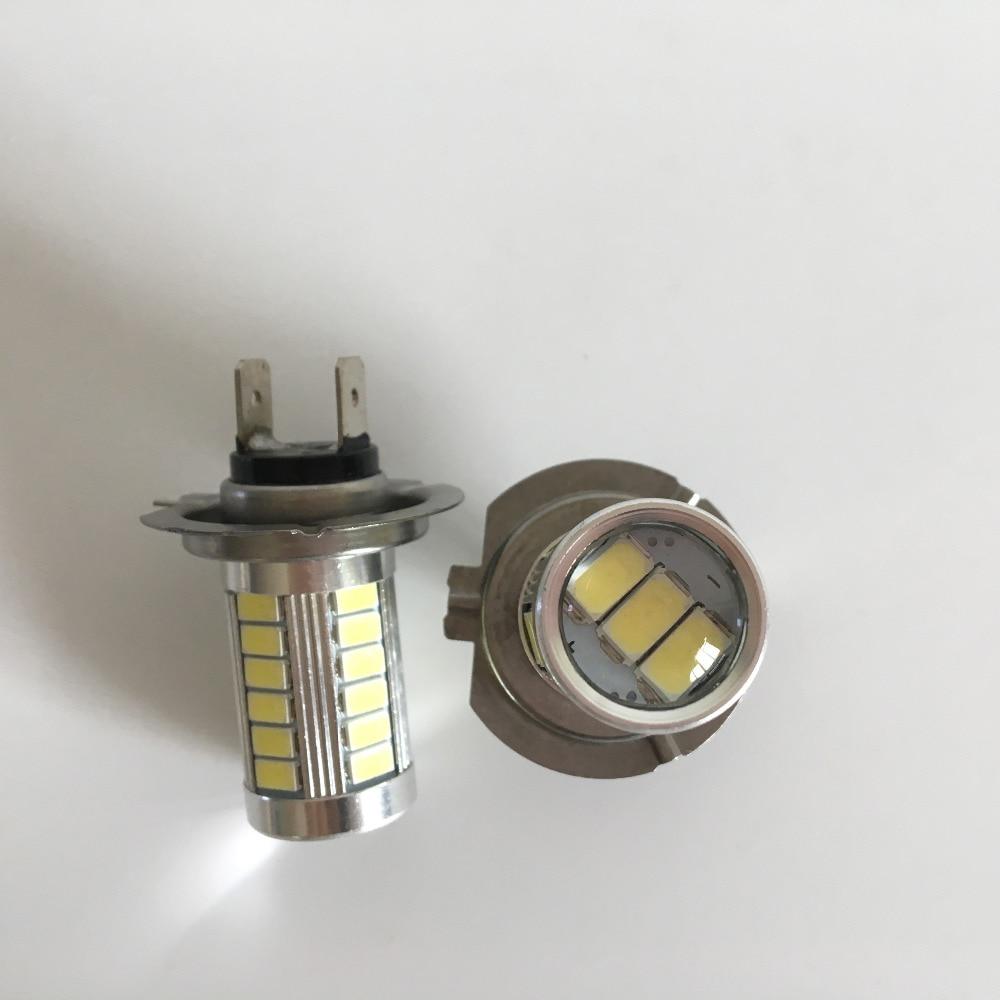 H7 LED 33SMD Gündüz İşıq Avtomobil LED Duman Sürücü - Avtomobil işıqları - Fotoqrafiya 3