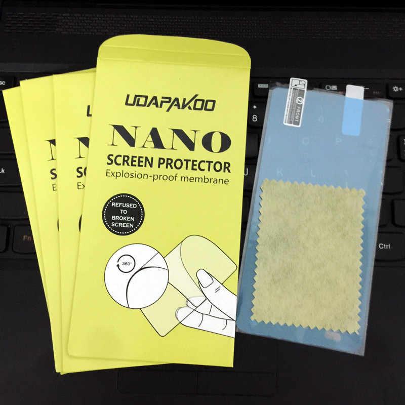 Tempered soft glass film for samsung Galaxy E3 E5 E7 E300 E500 E700 C5 C7 C8 C9 pro Nano Explosion-proof glass Screen Protector