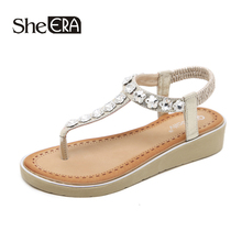 New Fashion Women Sandals Crystal Flower Concise Elegant Comfortable Classic Shoes She ERA