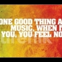 Bob Marley – One Good Thing About Music Laminated & Framed Poster (36 X 12)