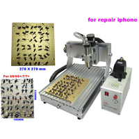 IC CNC Router CNC 3040 Milling Polishing Engraving Machine With 2 Pcs Mould For IPhone 4