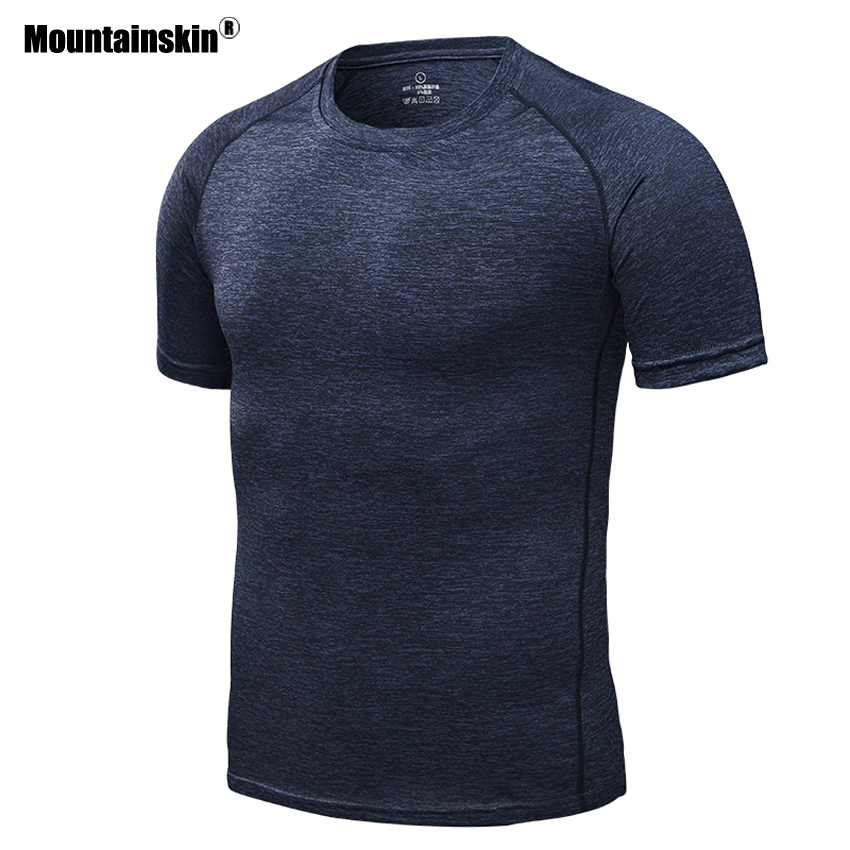 Mountainskin Men Women's Quick Dry Breathable Summer T-shirts Outdoor Yoga Camping Trekking Fishing Running Short Sleeves VA241