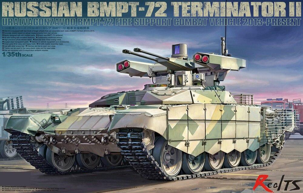 Tiger Model 4611 1 35 Russian BMPT 72 Terminator II