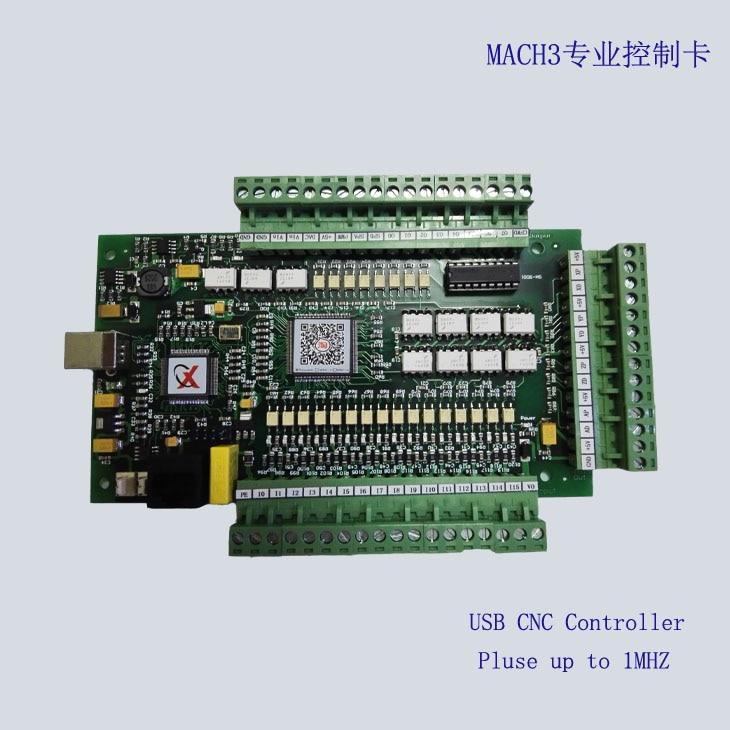 MACH3 Engraving Machine Control Card CNC Controller High-speed Motion Control Card 3-axis E-CUT Upgrade