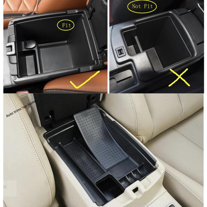 Yimaautotrims <font><b>Accessories</b></font> For <font><b>Nissan</b></font> <font><b>Qashqai</b></font> J11 <font><b>2014</b></font> - 2020 Armrest Storage Multi-grid Pallet Container Phone Case Box Cover image