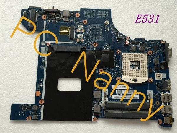 Placa-mãe para Lenovo Thinkpad Edge E531 Laptop Motherboard S989 HM77 FRU 04Y1299 VILE2 Nm-A044 placas-mãe completo testado