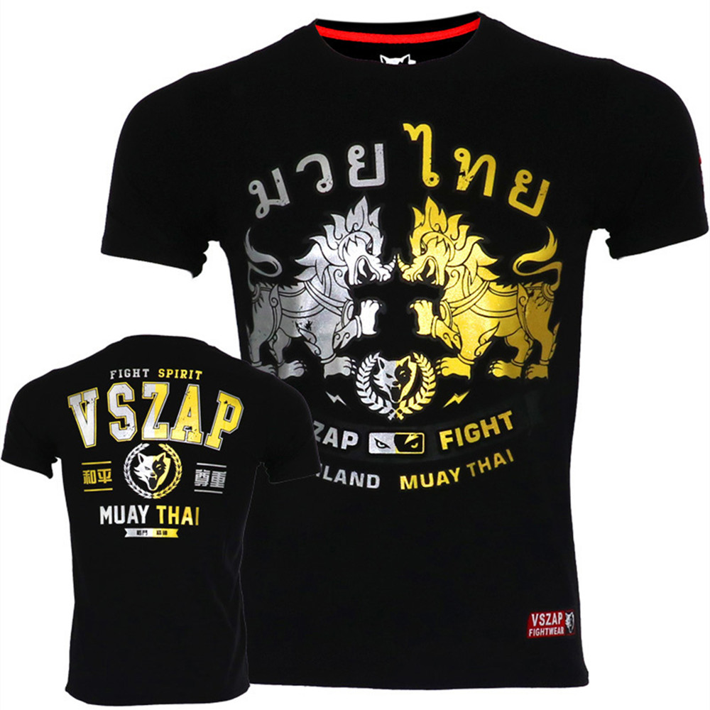 VSZAP Boxing Clothing Muay Thai MuayThai Tshirts GarudaMMA Boxing Sports Fighting Fitness Elasticity Tights Trousers Sweatshirts