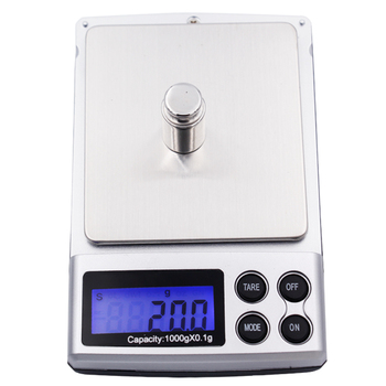 10pcs/lot 0.1g 1000g Digital Scales digital pocket Electronic Jewelry gold  Balance Weighing Scale 20% off