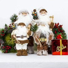 2019 Christmas Santa Claus Doll Toy christmas decorations for home christmas tree decorations Xmas Gift 2 Sizes Dropshipping