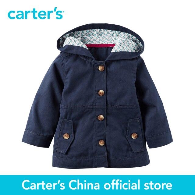 Картера 1 шт. детские дети дети Холст Куртка 127G262, продавец картера Китай официальный магазин