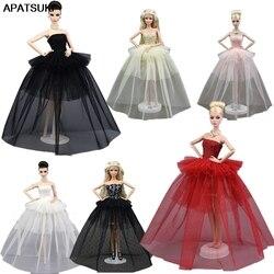 Кукольная одежда для принцессы Барби, свадебное платье, благородное вечернее платье для куклы Барби, модный дизайн, наряд, лучший подарок дл...