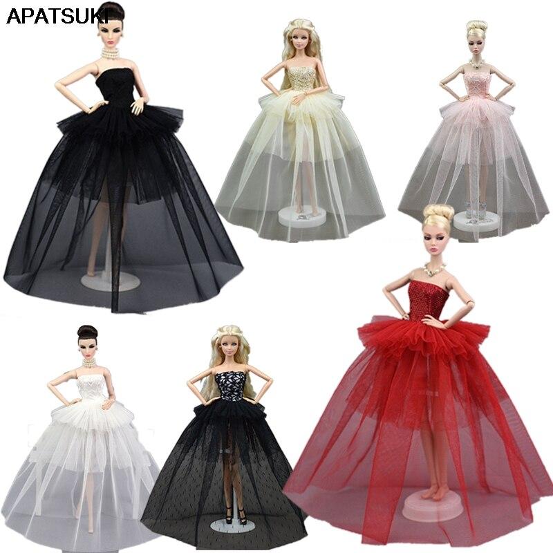 Vêtements de poupée pour Barbie princesse robe de mariée Noble robe de fête pour poupée Barbie mode Design tenue meilleur cadeau pour poupée fille