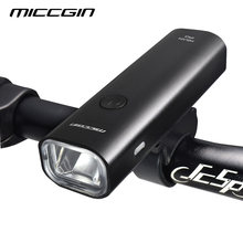 MICCGIN LED Bike Super Bright Bicycle Light Lantern For Bicycle Cycling FlashLight USB Rechargeable Waterproof Lamp Accessories(China)