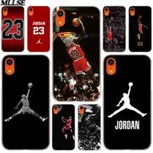 ace34b8c3539 MLLSE Basketball God Michael Jordan Fashion Cover Case for iphone XS Max X  XR 8 7