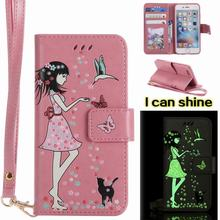 For Capa Apple iPhone 6s Case PU Leather Wallet + Silicone Phone Bags Funda 6 Cover Flip Stand With Card Holder
