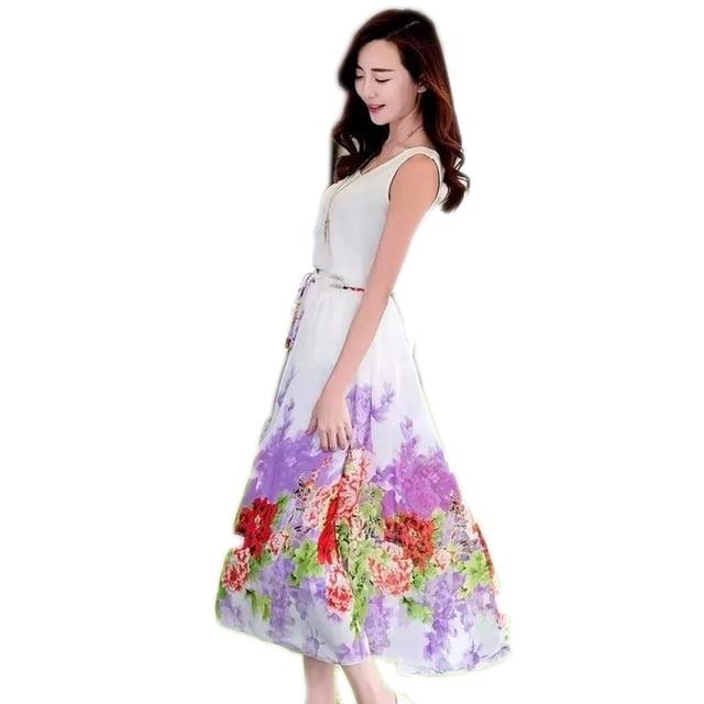 Bohemia Estilo Señoras Del La Largas Para Elegante De 2 Las Verano 0 Ropa Faldas Mujer w1PRSqn5tB
