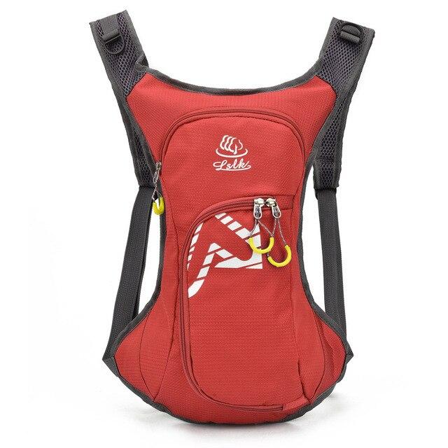 Saco de bicicleta impermeável respirável 10l ultraleve escalada mochila das mulheres dos homens ciclismo saco de água respirável esportes ao ar livre 5