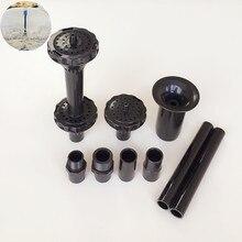 Conjunto plástico da cabeça da fonte para bocais plásticos da fonte da lagoa do jardim